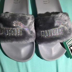 Puma Shoes - Authentic Puma Fenty Women s Slides With Swarovski ab6455c35